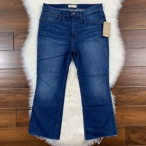 Madewell Petite Cali Demi Boot Denim Jeans - BE